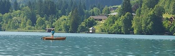 Schöner Badesee in Kärnten
