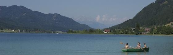 Urlaub und Erholung am Weissensee