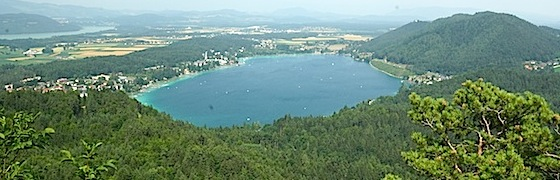 Badeparadies im Urlaub - Klopeinersee