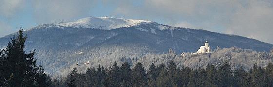 Skigebiet bei Villach - Gerlitze