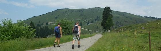 Wandern auf dem Villacher Hausberg - Dobratsch