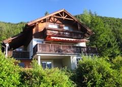 Ferienhaus mit Karawankenblick im Bodental