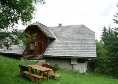 Abgelegene Hütte