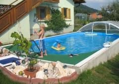 Ferienwohnung mit Pool für 4 Personen