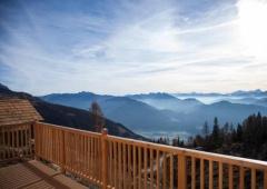 Luxus Skihütte - Skigebiet auf der Emberger Alm