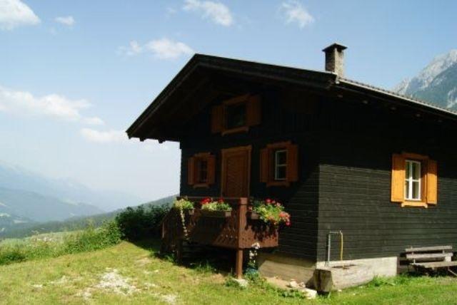Urlaub Kärntner Lesachtal-kleine Hütte in Alleinlage