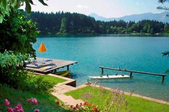 Appartement für den Urlaub zu zweit direkt am See